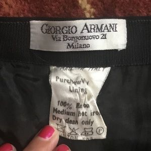 Authentic vintage Giorgio Armani pencil skirt
